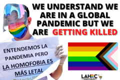 WE UNDERSTAND WE ARE IN A GLOBAL PANDEMIC BUT WE ARE ALREADY GETTING KILLED
