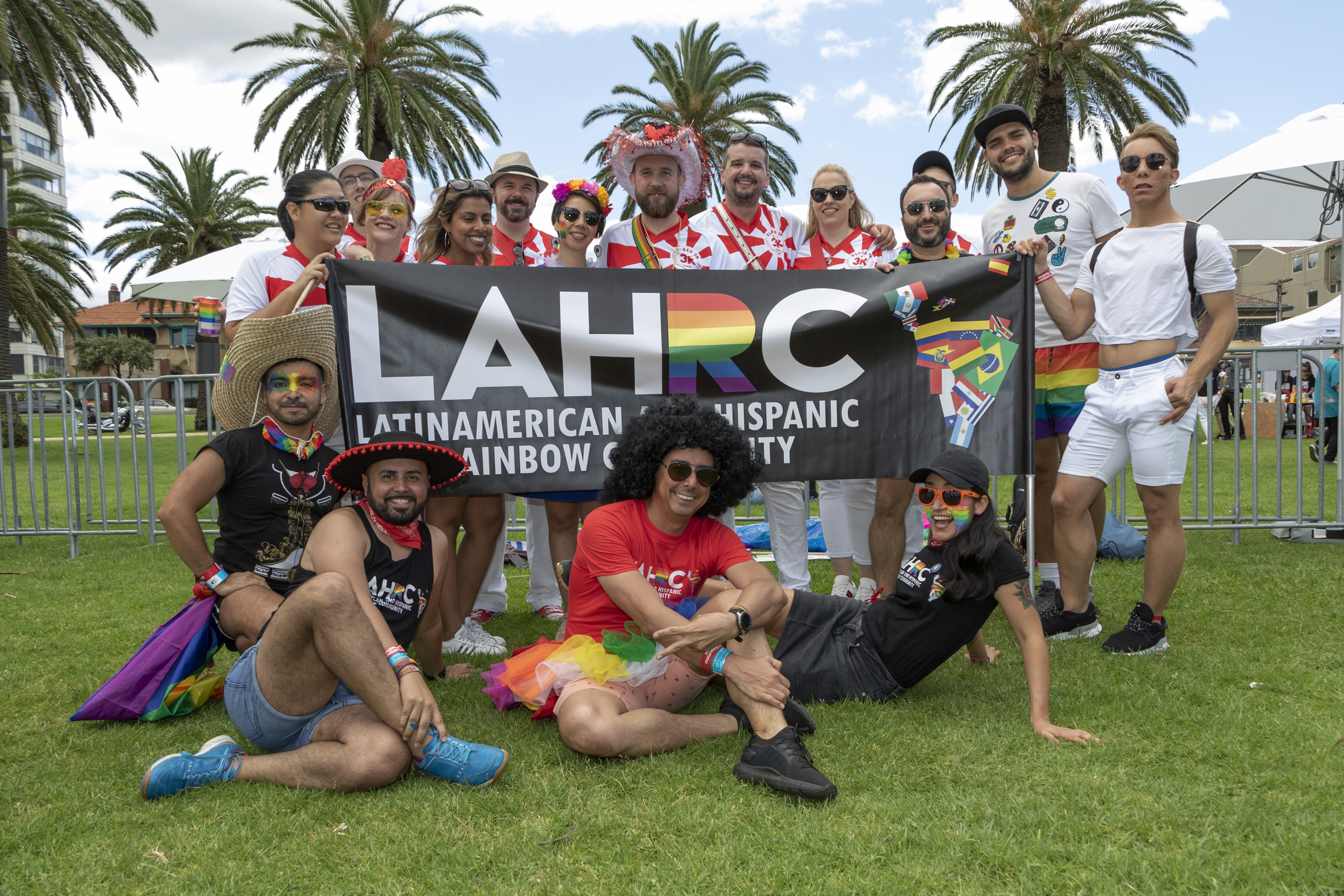 LAHRC at Pride March 2020